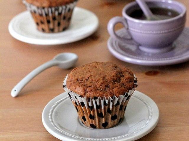 Bánh Muffin cà phê chocolate.